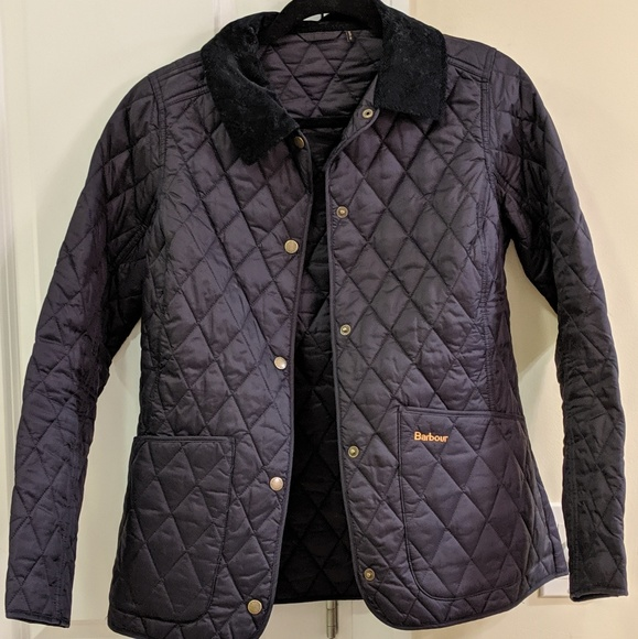Barbour Annandale Quilted Navy Jacket